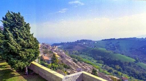 Abruzzo - Vista dalla Fortezza di Civitella del Tronto